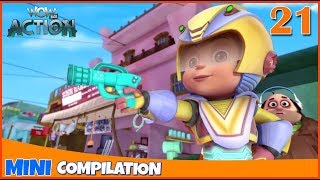 Vir The Robot Boy | Mini series | Compilation - 21 | 3D cartoon for kids | WowKidz Action
