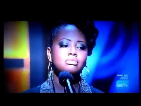 Lalah Hathaway sings A Song For You on BETs Apollo