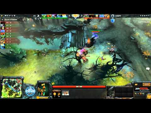 Liquid vs Union Gaming Game 1 - ESL One Dota 2 Playoffs - Capitalist & Pimpmuckl