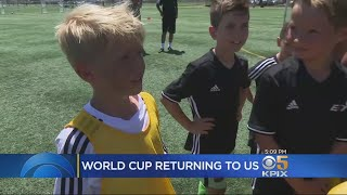 Bay Area Soccer Fans Excited By News World Cup Will Return To North America