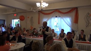 """Best Father of the Bride Speech ever - """"Shoulda bought that shot gun"""""""