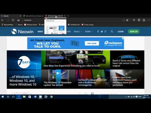Windows 10 November update what's new in Microsoft Edge Browser