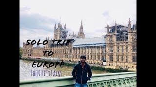 Solo Trip | Travel Diaries | Europe - London - Paris