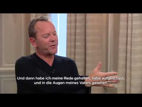 KIEFER SUTHERLAND INTERVIEW IN ZURİCH 28/9/2015