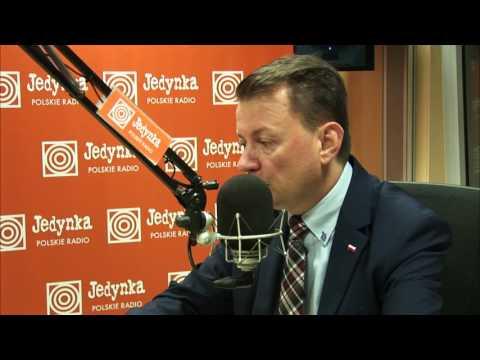 Mariusz Błaszczak: jesteśmy wolni od zagrożeń (Jedynka)