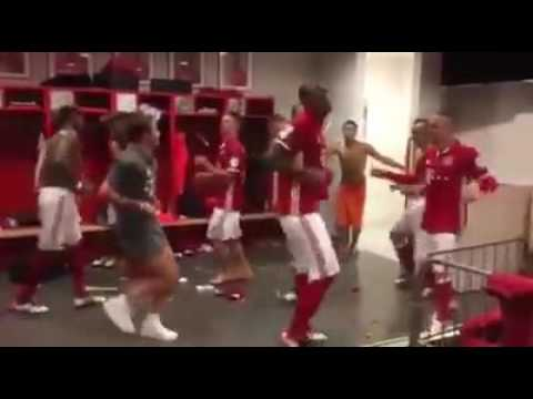 Let's celebrate bayern munich  champion 2015-2016