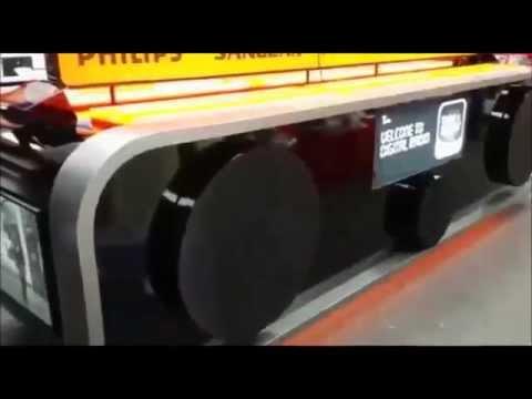 Digital radio display film