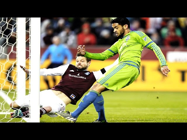 HIGHLIGHTS: Colorado Rapids vs. Seattle Sounders | April 18, 2015