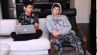 Reading Hate Comments Nash Grier & Cameron Dallas