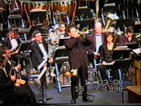 1/3 Concierto para Trompeta y Banda de Andrés Valeró. Solista: Ernesto Chuliá. BSMM.
