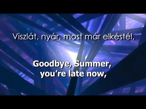Eurovision 2018 Hungary // AWS - Viszlát nyár (Lyrics+Translation)