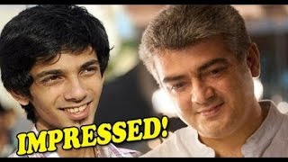 Anirudh in yuvan way Theme music ready for Ajith movie