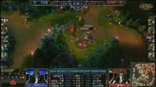 Samsung Blue vs Samsung White - [World Championship 2014]Dünya Şampiyonası 2014 [Türkçe] 1.Maç