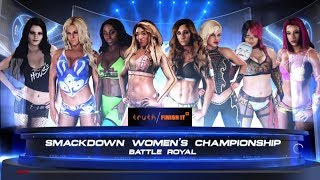 download lagu Wwe 2k18 Smackdown Live Women's Championship 8 Women's Battle gratis