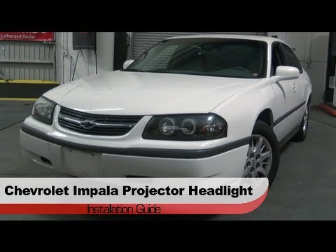 Spyder Auto Installation: 2000-05 Chevrolet Impala Projector Headlights