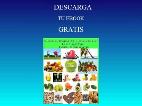 Descarga Gratis tu Ebook  de Colesterol