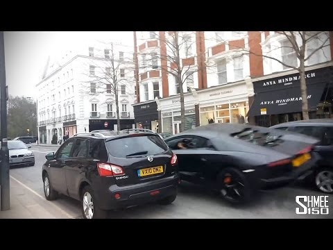 Aventador Crash — Moment of Impact