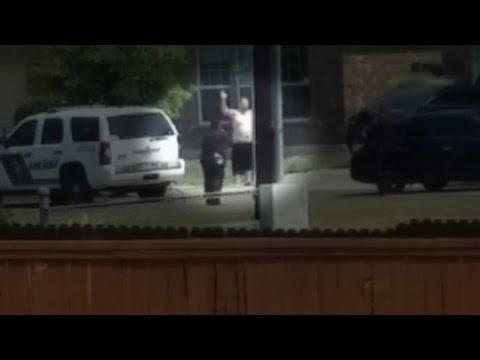 Disturbing video: Did cops gun down unarmed man?