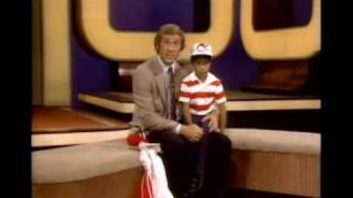 Fran Tarkenton and Tiger Woods