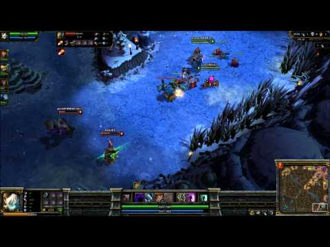 League of Legends 25-10-2010 Tristana Easy ranked (game 1) part 1