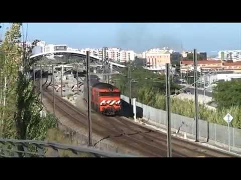 CP 1930+ IC do Alentejo no Pragal 25 Jul 2009