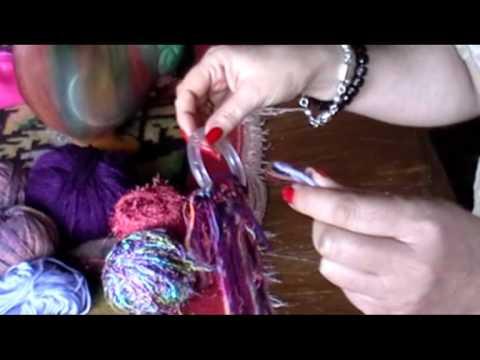 Bufanda de argolla (tutorial)