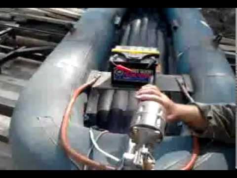 Электро лодочные моторы своими руками