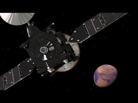 Partió la sonda a Marte para buscar signos de vida