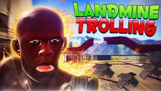 LANDMINE TROLLING! - Rust Trolling Noobs!