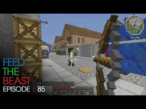 Minecraft Feed The Beast - E85 :: Working out the bugs