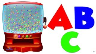 Learn Alphabets With Vending Machine | ABC Songs For Kids | Preschool Learning Videos
