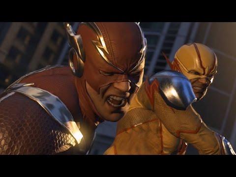 Injustice 2 - The Flash vs Reverse Flash (Story Battle 19) [HD]