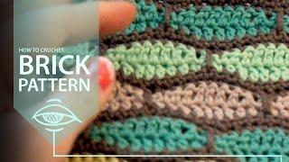 How to Crochet Brick Pattern