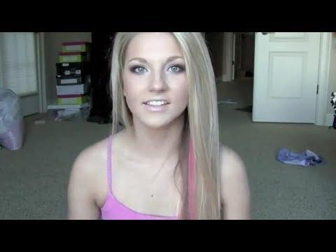 hair update pink streaks youtube