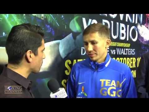 Gennady Golovkin  Rubios strategy wasnt to win Maybe next fight decision fight