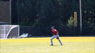Matt Ahlquist, 2013 College Baseball Prospect, SS/IF/OF