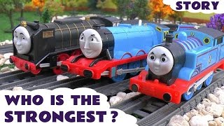 Thomas and Friends Strongest Engine Episode Story Game Trackmaster Toy Trains Thomas Y Sus Amigos