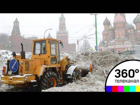 В Москве устраняют последствия снегопада: отменены десятки рейсов