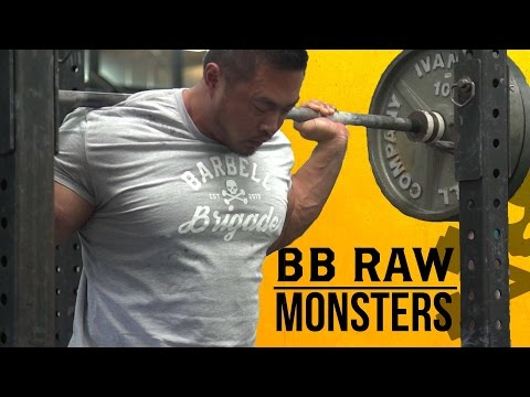 BARBELL BRIGADE MONSTERS