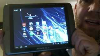 Archos 80 G9 Review - [Top 10 Android Apps]