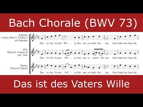 Бах Иоганн Себастьян - Das ist des Vaters Wille (from BWV 73)