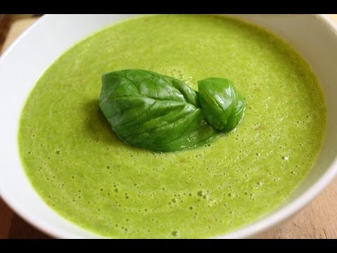 Raw Vegan Spinach Soup Blendtec Recipe