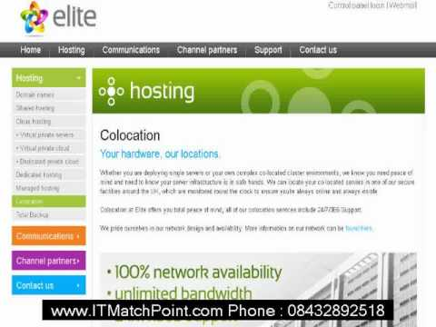 Glasgow COLOCATION Server Hosting