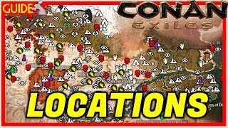 Conan Exiles XB1/PC 4 Dungeons And Locations You Need To Find