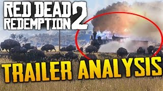Red Dead Redemption 2: Trailer Analysis & Breakdown (+ Story & Map Theories)