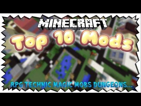 Minecraft TOP 10 MODS - TheNodop