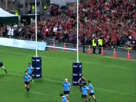 Super Rugby 2011 Highlights Crusaders vs Waratahs - Super Rugby 2011- Rd. 3- Crusaders vs Waratahs