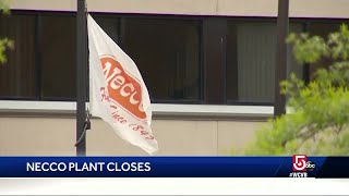 Necco plant suddenly closes