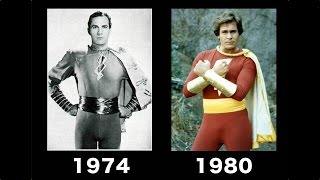 Shazam captain marvel transformations in movie [ 1974 - 1980 ]