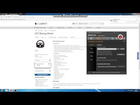 How To Download Logitech G27 Gaming Profile.